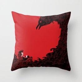 Nevermore Throw Pillow