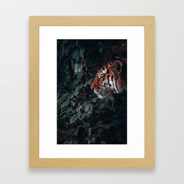 Tiger Style Framed Art Print