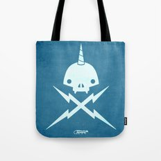 Yeticorn Skull & Bolts Tote Bag