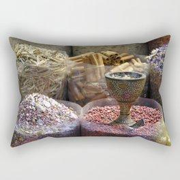 Spice souk Dubai Rectangular Pillow