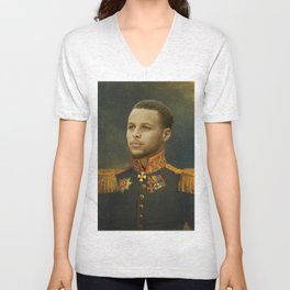 Steph Curry Classical Painting Unisex V-Neck