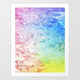 Rainbow Seas Art Print