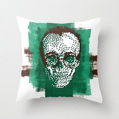 Keith POSTportrait Throw Pillow