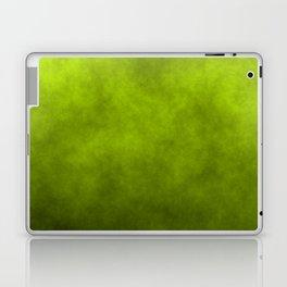 Slime Green Vaporized Neon Ectoplasm Fog Laptop & iPad Skin