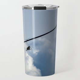 Flying in the clouds Travel Mug
