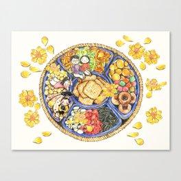 Tet sweets Canvas Print