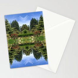 Mirrored Nature Stationery Cards