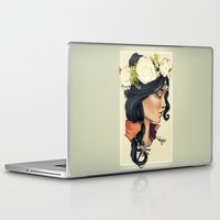 loish Laptop & iPad Skins featuring Bohemian Girl by ArianeTorelli