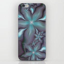 Aquafleur Fractal iPhone Skin