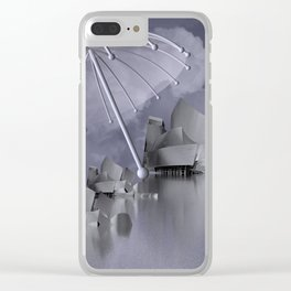 sheltered -2- Clear iPhone Case