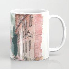 Cloudy street Coffee Mug