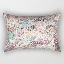 Charlottesville map Virginia Rectangular Pillow