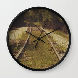 A path that leads to somewhere. Wall Clock