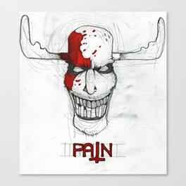 """Pain"" Canvas Print"