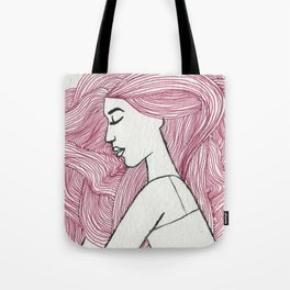 Bed hair  Tote Bag