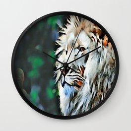 The lion jungle Wall Clock
