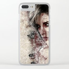 Woman of Love Clear iPhone Case