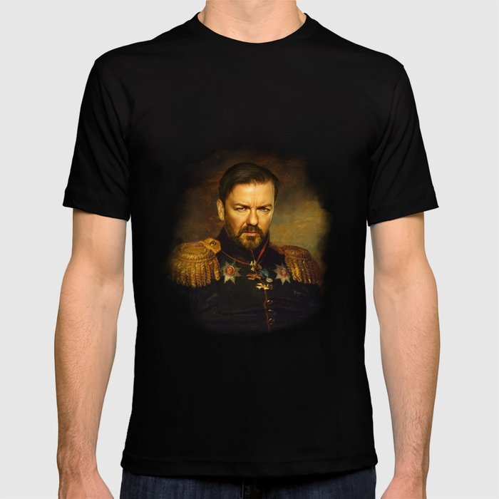 Ricky Gervais - replaceface T-shirt