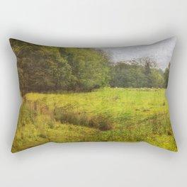 Bottom of the Meadow 2 Rectangular Pillow