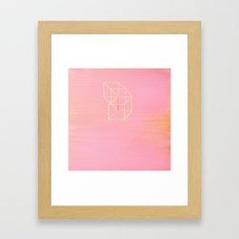 Little Boxes Exploded Framed Art Print