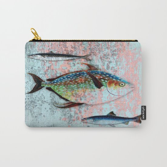 Into the Deep, Ocean Swimming Fish Carry-All Pouch