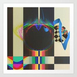 Atlas Overdrive 1983 Art Print