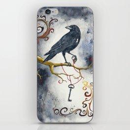 Heart Strings & Raven Wings iPhone Skin
