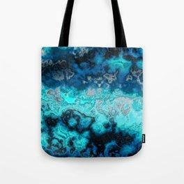 Blue Agate Tote Bag