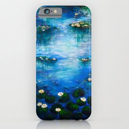 Water lily paradise iPhone Case