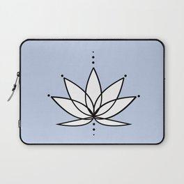 Imperfect Lotus with Background Laptop Sleeve
