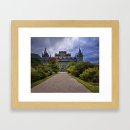Night at the Castle Framed Art Print