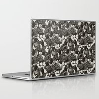 dramatical murder Laptop & iPad Skins featuring Murder Weapons by Alex Solis