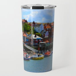 Whitby by the Sea Travel Mug