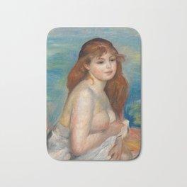 Renoir - After the bath, 1885 Bath Mat