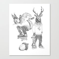 F*** your christmas Canvas Print