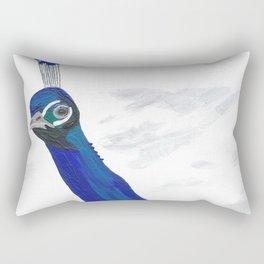 A Peacock Named Baby Boy Rectangular Pillow