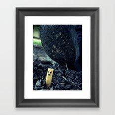 Smush Framed Art Print