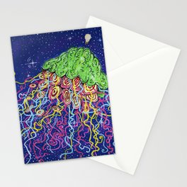 The Smartest Intergalactic Space Jellie Stationery Cards