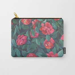 Camellias, lips and berries. Carry-All Pouch