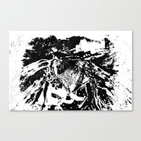 moth Canvas Prints featuring Moth by Shane R. Murphy
