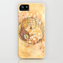 Aesop's Fables - The Lion and the Mouse iPhone Case