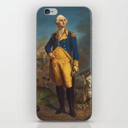 George Washington - Military Portrait iPhone Skin