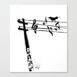 Rogue Crow Canvas Print