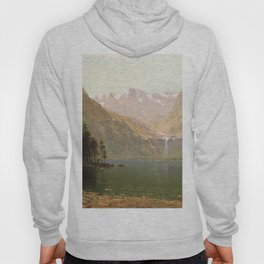 View Of Lake Tahoe Looking Across Emerald Bay 1874 By Thomas Hill | Reproduction Hoody