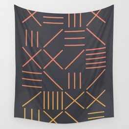 Geometric Shapes 09 Gradient Wall Tapestry