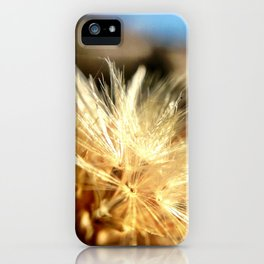 Mountain weeds. iPhone Case