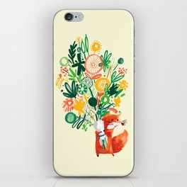 Flower Delivery iPhone Skin