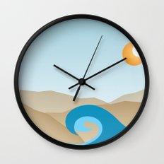 Beach Paradox Wall Clock