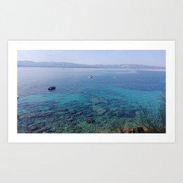 Deep blue sea... Art Print