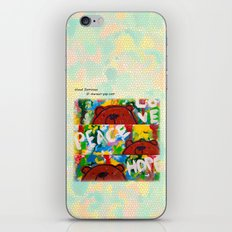 Wood Dominoes - Colour - #2 iPhone & iPod Skin